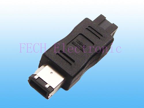 IEEE 1394 6P/M TO 1394b 9P/M