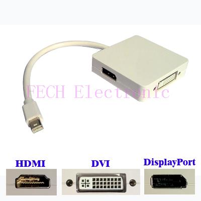 MINI DP TO DP+HDMI+DVI