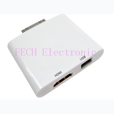 IPad to HDMI +USB Adapter
