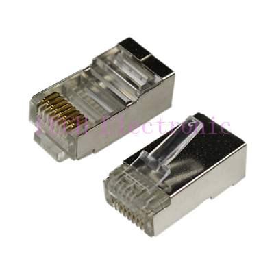 FLRS45 RJ45 Connector 8P8C Shield
