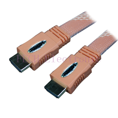 HDMI A Male TO HDMI A Male  (Ver.1.3b)  Flat Cable