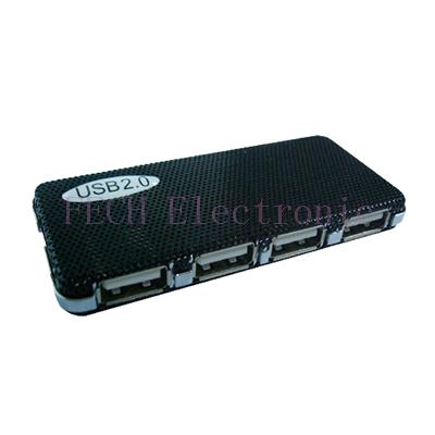 USB 2.0 HUB 4PORT W/O Power(Metal cover)