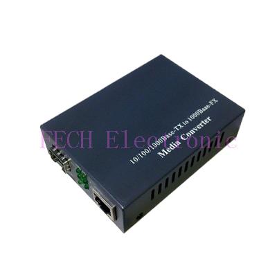 LC SM 10/100/1000M Media Converter