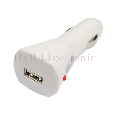 Car Power Charger w/USB