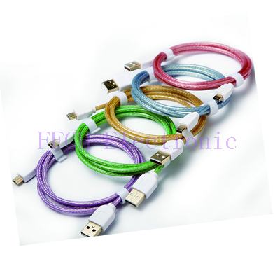 USB 2.0 Certified Type A Male to Micro-B 5-Pin Cable,