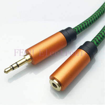 FV1302 3.5mm Stereo Male to Female Extension Cable