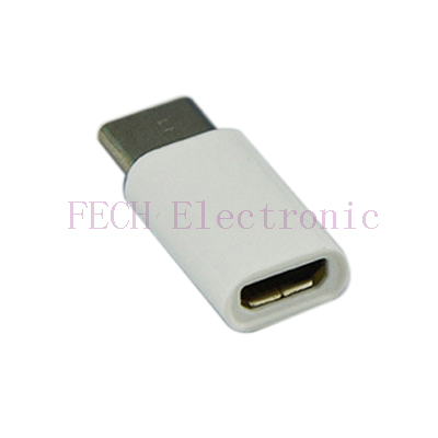 USB TYPE-C M TO MICRO 5P F ADAPTER